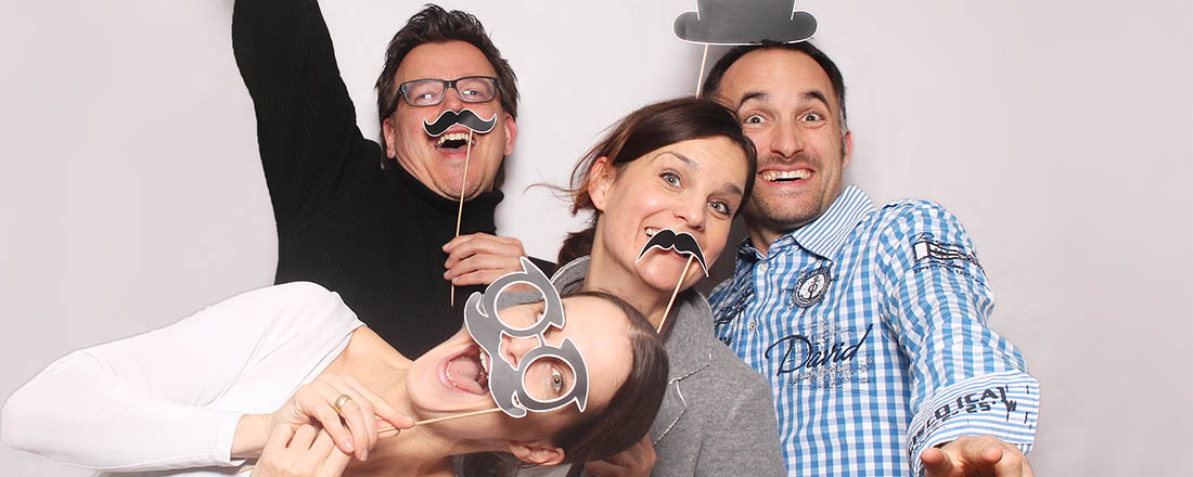 Photobooth Fotobox macht Spaß
